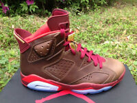 Jordans - Brown & Red Leather - Coolest Shoes in the World