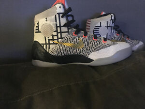 Youth size 5 Kobe 9s