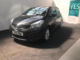 Toyota Yaris 1.33 VVT-i 2013 TR finance available from £30 per week