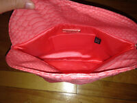 Pink Designer Kate Landry Handbag/Clutch! Sac à main rose