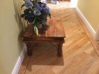 Coffee table, square 600 x 600 x 40 cm