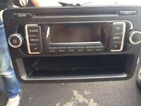 Genuine VW T5 rcd 210 radio CD player