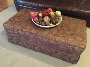 Beautiful Tapestry Ottoman