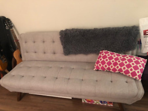 NEW STRUCTUBE - Sofa/futon - Excellent Condition - $190