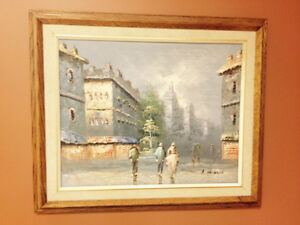 Albert Herbert Oil Painting