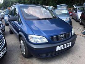 Vauxhall Zafira 1.6 i 16v Club 5dr (a/c)