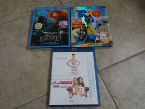 Dvds for sale $2.50/disc - total of  25  DVDS
