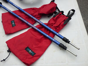 LLBean Snowshoes, Poles, Tatonka Gaiters and Carry Bag Cornwall Ontario image 3