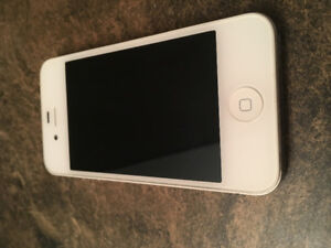 Immaculate iPhone 4s 16 gig White
