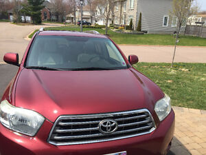 2008 Toyota Highlander Limited SUV, Crossover, with snow tires
