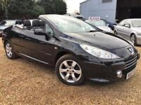 Peugeot 307 cc Sport copeConvertible 1.6 16v 110bhp Warranty delivery Px welcome