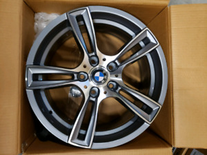 "BMW 17"" wheels and tires new in box SPECIAL"