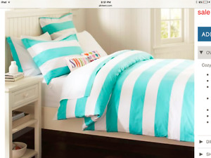 PB Teen Double Duvet Cover - Pottery Barn Teen