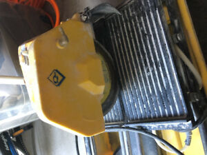 Tile cutter wet saw