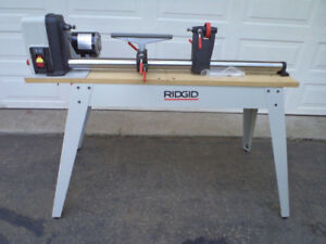 Rigid Wood Lathe