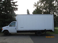 2007 Ford 16'ft Cube Van