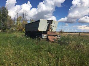 Tri-axle Gravel Wagon