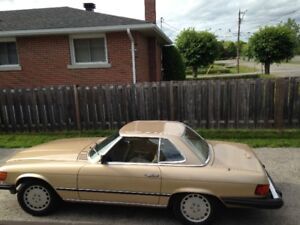 Classic 1981 Mercedes Benz 380SL For Sale