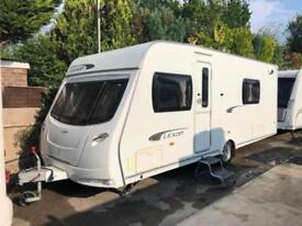 2012 Lunar Lexon 540 4 Berth caravan FIXED BED VGC Awning Great Layout, Bargain