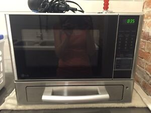 LG Microwave with Built in Pizza Oven