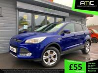 2015 Ford Kuga Zetec 2.0TDCi 150BHP **Only 37,000 Miles - Ford Warranty**