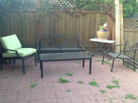 GUC 4 piece patio set