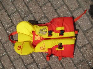 Infant life jacket, like new
