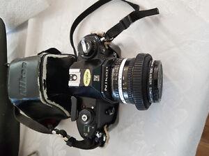 Camera argentik nikon avec lentilles