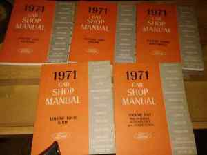 Various shop and owner manuals. Original