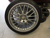 Genuine BBS speedlines split rims 19 inch alloy wheels 5x122 vw seat Audi a4 a5 a6 RS4 RS5 RS6