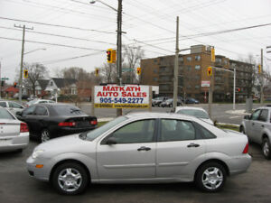 **2007 Ford Focus SE**  4 door Auto, air, Cert & E-tested