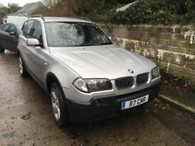BMW X3 2.0d 2005 DIESEL 6 SPEED Sport MARCH 2019 MOT, VGC,PRIVATE PLATE INCLUDED