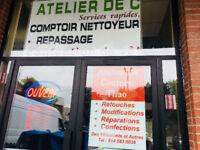 Services Couturiere et nettoyeur