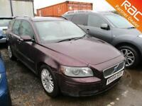 2004 Volvo V50 Estate 2.0D 136 S 6Spd Diesel grey Manual