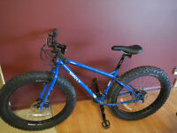 $200 Reward for info on a Blue Surly Pugsley Fat Bike (see pic)