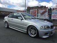 BMW 325 2.5 Ci SPORT 2002/52 2DR , *** RACE TRACK CAR ***M5 ALLOY WHEELS