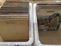 job lot 150 vinyl records, rock, soul, hiphop & more