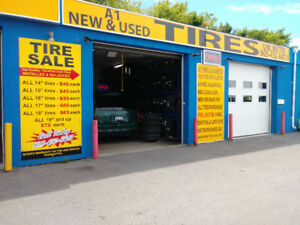 TIRE BUSINESS ONLY FOR SALE IN OSHAWA VERY BUSY AREA