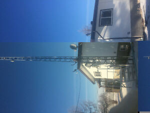 40 foot communication tower