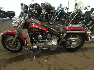 Harley Heritage Softail Custom.  Beauty. Lady driven. Need ATV