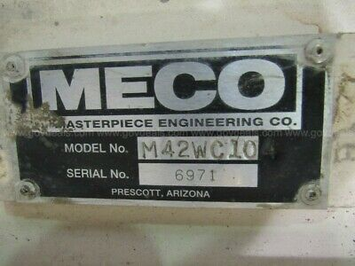 30 Meco 42wc Walk Behind Concrete Saw