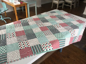 Handcrafted patchwork  Baby quilt, Crib quilt