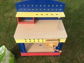 Childs workbench toy