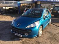 57 plate Peugeot 207 1.4 m:play