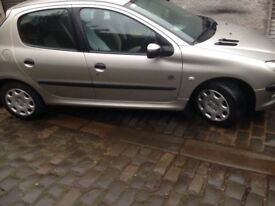 2005 Peugeot 206 1.1 1 years m.o.t special edition