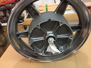 Goldwing rear wheel and new tire