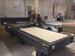 CNC Router, Multicam MG 5x10 with ATC