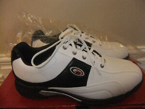 brand new in box top flight heritage womans golf shoes, size 8.5