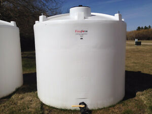 Large plastic water tanks and totes
