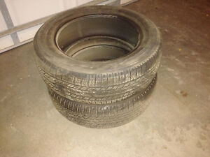 235/60R18 All Season Tires, 1 Pair